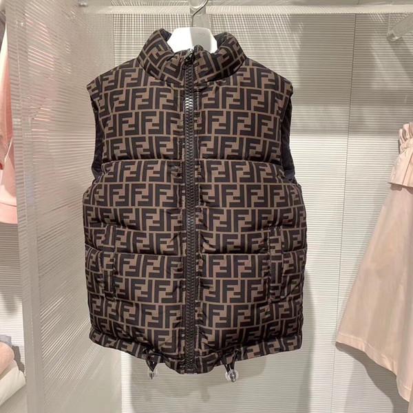 Sonbahar Kış Kız erkek Rahat Yelek Ceket Çocuk Giyim Mont çocuklar için Yelek Bebek Bebek Aşağı Yelek Kolsuz Çocuklar Sıcak ceket