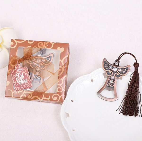 Souvenirs For Birthday Parties Angel Design Bottle Opener For Gift Box Cumpleanos Anniversaire Wedding giveaways favors wang