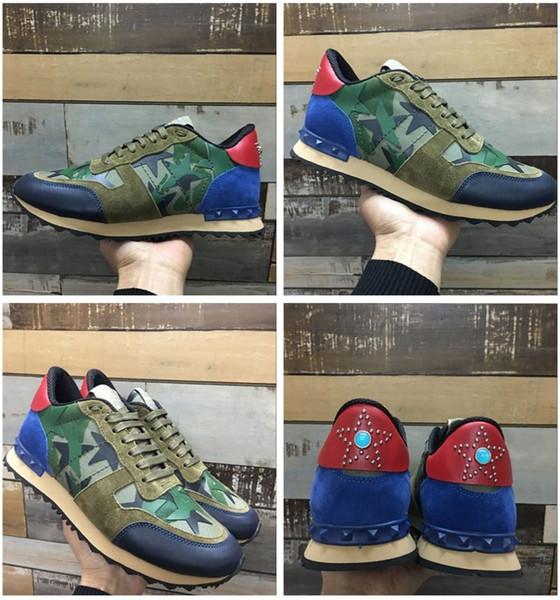 Diseñador de lujo Hombre Zapatos casuales Zapatos de cuero para hombre Moda Zapatos blancos Planos Zapatillas de deporte casuales Diario para correr Barato En oferta xg18111103
