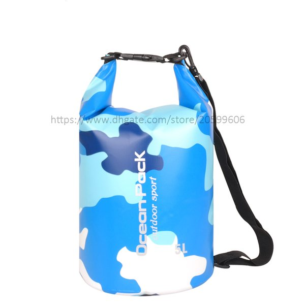 Blue Camouflage Colors 5L