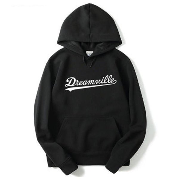 Men Dreamville Sweatshirts Autumn Spring Hooded Hoodies Hip Hop Fashion Male Casual Pullovers Tops Clothing M-2XL