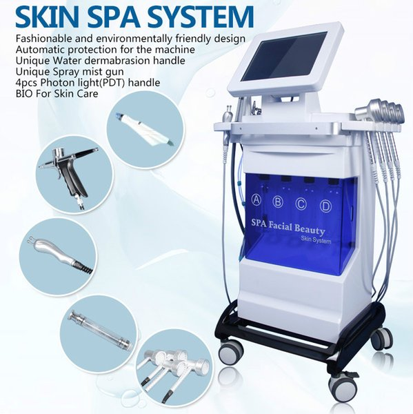 Multifunctional Hydra Facial Machine Professional Microdermabrasion Machines Facial Treatment Hydro Dermabrasion Machine Deep Clean Face CE