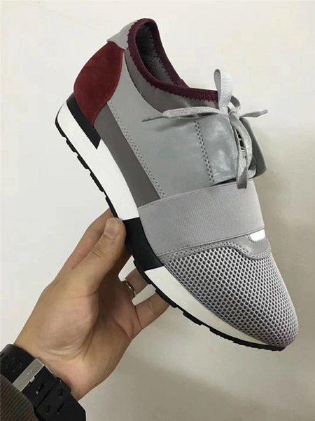 Leather toe/grey