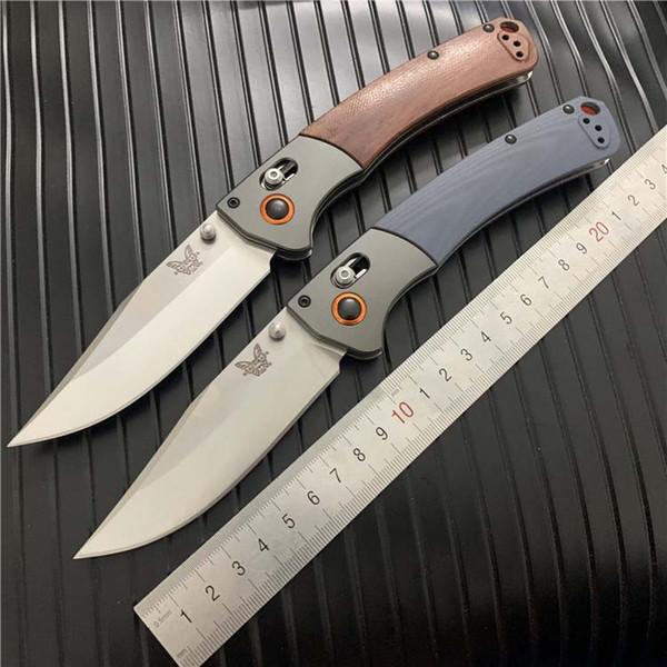 High End BENCHMADE 15080-2 S30V Satin Blade AXIS Folding Knife BM 940 KNIFE BM810 BM3300 BM581 C81 BM 10580 940-1 Butterfly knife
