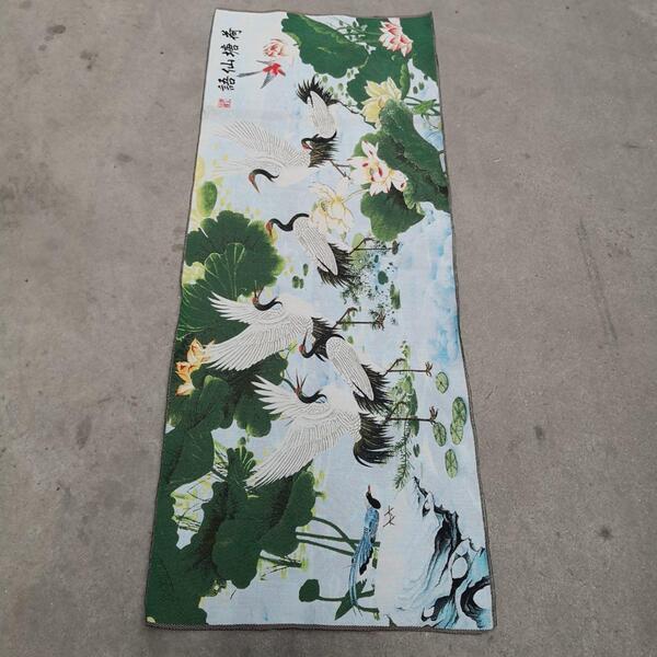 Hada de azúcar pintura china antigua Thangka pinturas bordado pintura 150x60cm
