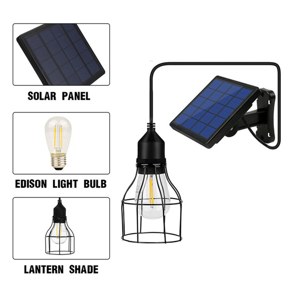 2019 Ip44 Water Resistance Solar Powered Energy Pendant Light Outdoor Lamp Light Remote Control Pull Cord Switch For Garden Home From