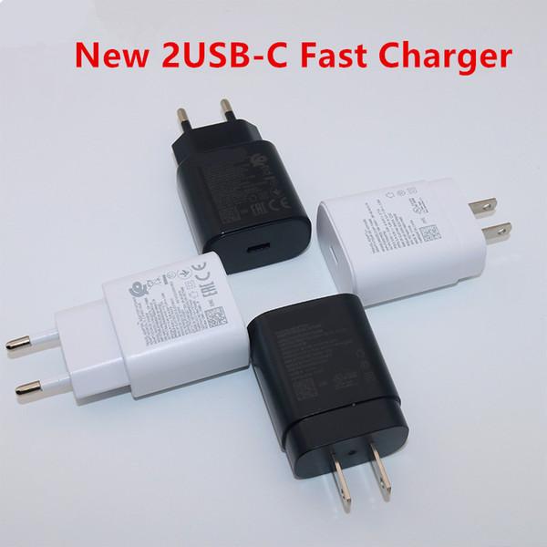 caricabatterie rapido Adaptive per Galaxy s10 S10e S8 S9 Inoltre Nota 8 9 A3 A5 A7 2017 parete USB di ricarica veloce adapte potere