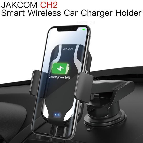 JAKCOM CH2 Smart Wireless Chargeur Voiture Support Vente Hot dans un téléphone portable Supports Détenteurs comme outils à main TikTok griptok