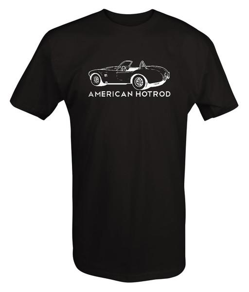 Amerikanisches Hotrod Shelby Cobra Roadster klassisches Muscle Car - T Shirt