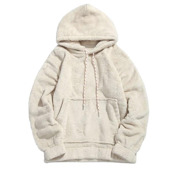 Sweater Men Hoodies Fashion Solid Long Sleeve Hooded Pockets Tops Sweater Blouse Outwear Men Sweatshirts S-2XL