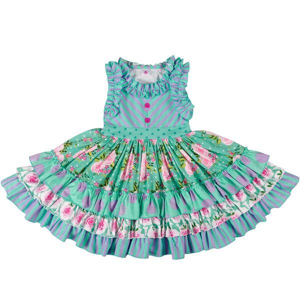 Toptan Toplu Bebek Kız Kafa Olmadan Yaz Kız Elbise Prenses Parti Giyim Güzel Remake Elbise Lyq803-080 Y190516