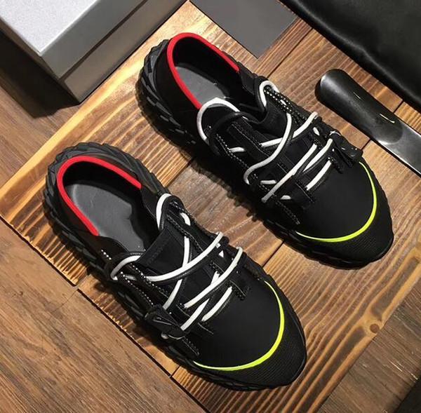 Styliste Chaussures de sport pour les femmes hommes Urchin robe snesakers haute qualité semelle épineuse italie casual chaussures 35-46 rt13