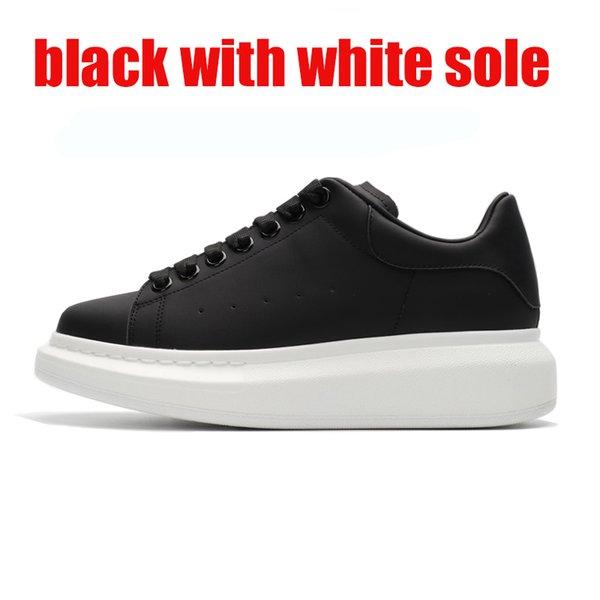 черный с белой подошвой 36-44