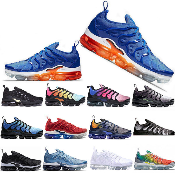 new style tn plus running shoes for men women game royal orange tangerine mint grape volt hyper violet trainers sports designers sneakers - from $38.57