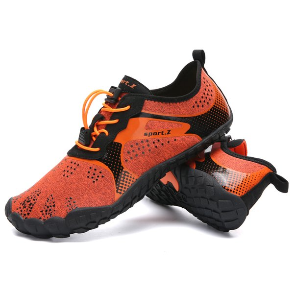 2019 New Summer 35-47 Outdoor Men Hiking Shoes Mountain Shoes Trekking Women Wading Quick Dry Upstream Breathable