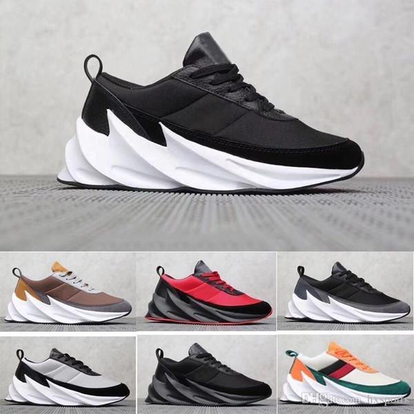 Köpekbalıkları 2019 Konsept Borulu Gölge Örgü Trainer Spor Koşu Ayakkabıları Erkekler S Sneakers Size7-11