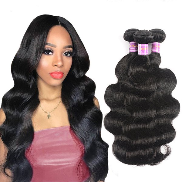 Natural Color Full Lace Wigs Hair real hair curtain Body Wave Human Hair Brazilian Peruvian Malaysian Indian Body Wave Lace Front