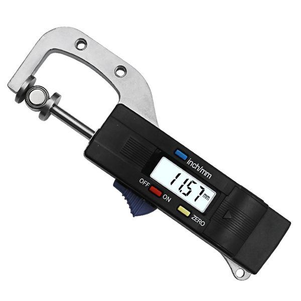 best selling Freeshipping 0-25mm Digital Horizontal Thickness Gauge 0.01mm Jewelry Pearl Ruler Round Diameter Metal Measuring Thickness Meter Micrometer