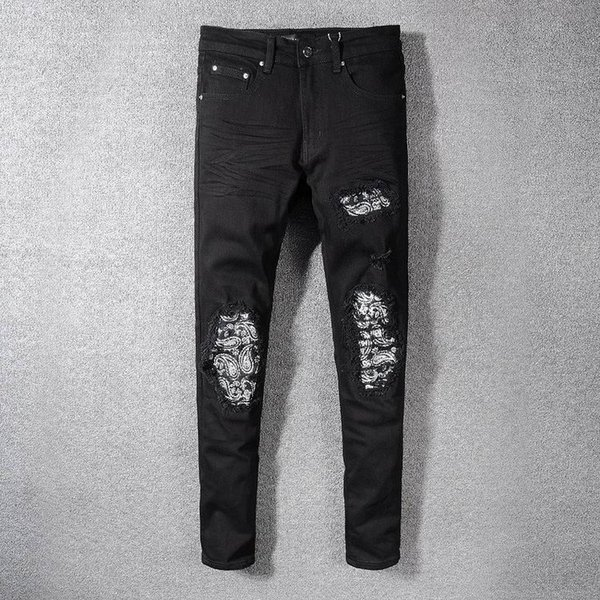 S19 New Arrive AM564 Skinny Motorcyclist Men Jeans Desinger in single cow thickened Slim Washed jeans