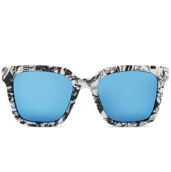 Luxury- Sunglasses Vintage Sun Glasses UV400 Men Women Ben 50mm 54mm Glass bain Lenses With Case