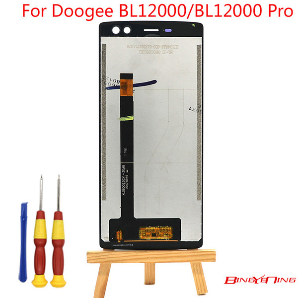 BingYeNing New Original For Doogee BL12000/BL12000 Pro Touch Screen+LCD Display Assembly Replacement