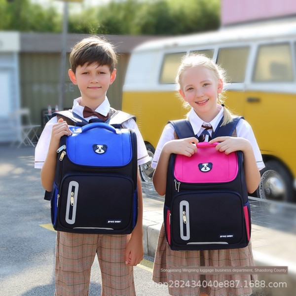 best selling Direct primary school students' schoolbags boys and girls children's books for grade 1-3-4-6 are printed