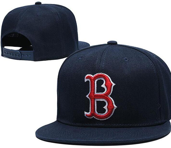 Discount Snapback Boston SOX Cap B Logo hat Strapback Training Camp cap Adjustable Baseball women men Snapbacks American City hat Cap Outlet