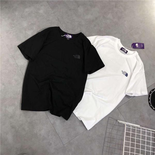 19ss Summer Design luxurious The North Tshirt Short Tee Sleeve Breathable Men Women Fashion The North Outdoor Streetwear T-shirts