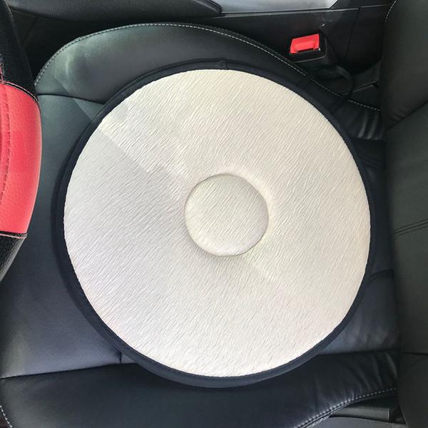 Revolving Car Cushion Black One Size