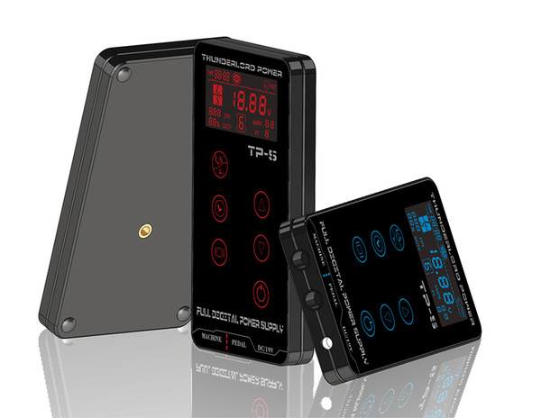 Fuente de alimentación para tatuaje HP-2 HURRICAN UPGRADE Pantalla táctil TP-5 Inteligente LCD digital Maquillaje Dual Tattoo Power Supplies set