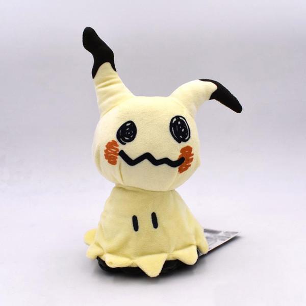 Presentes bonitos do bebê 25 cm / 9.8 polegadas pikachu mimikyu bonecas de pelúcia crianças X'mas presentes do dia das bruxas pikachu brinquedos de pelúcia