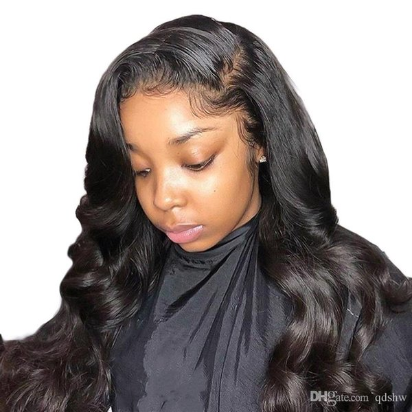 360 Full Lace Wig With Baby Hairs Pre Plucked Loose Wave Glueless Virgin Brazilian Lace Front Human Hair 360 Wigs For Black Women