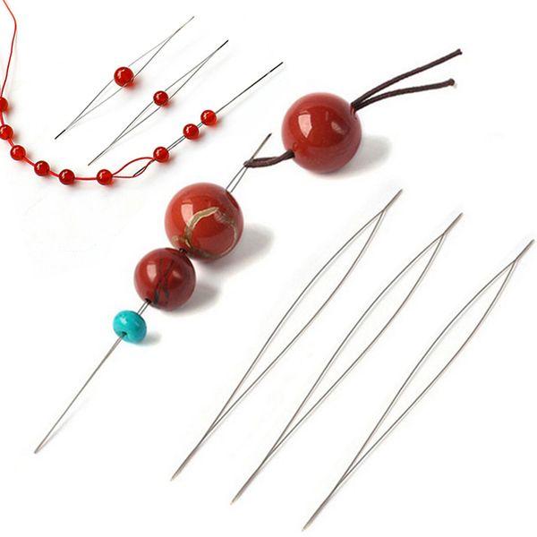 Verkauf Öffnen Perlenstickerei Liefert Für Die Herstellung Von Perlen DIY Hand Made Pins Schmuck Werkzeuge Für Halskette Schmuck