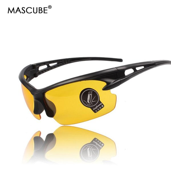 wholesale Cycling Glass Accessories HD Vision Driving Anti-UV Protect Eyes Cycling Eyewear Glass Sport Day Night Vision