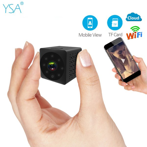 Mini Camera 720P HD IR Night Vision Wifi Wireless Security IP Camera Wi-Fi Two-Way Audio Home Indoor Recorder Video CCTV Cam