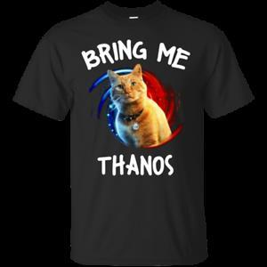Captain Marvel Goose Apportez-moi Thanos T-shirt BlaMen Cotton S-5XL