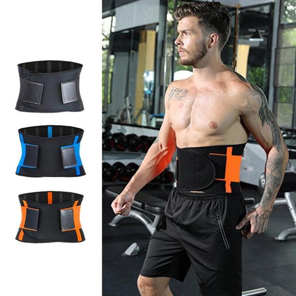 Ginásio de fitness treinamento da cintura esportes pro cinto para mulheres dos homens apertados esportes unisex perda de peso queima shaping cinto de fitness futebol cesta # 146995
