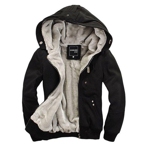6XL большой размер Зимние повседневные мужские толстовки толстовки с капюшоном куртки пальто человек толстовка с капюшоном теплая плюс толстые флисовые толстовки WY100 SH190905
