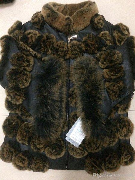 çiçekler Kış Coat modelinin 2202 Kararlı Kalite mont kısa Stil siyah Plakalı
