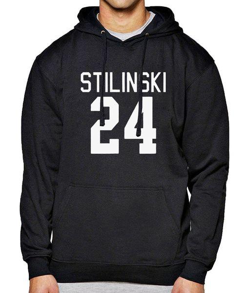 Stilinski 24 2019 primavera invierno sudadera para hombre Teen Wolf Fleece Brand Hoody Mens Sportsman Wear Chándal Streetwear Hoodie