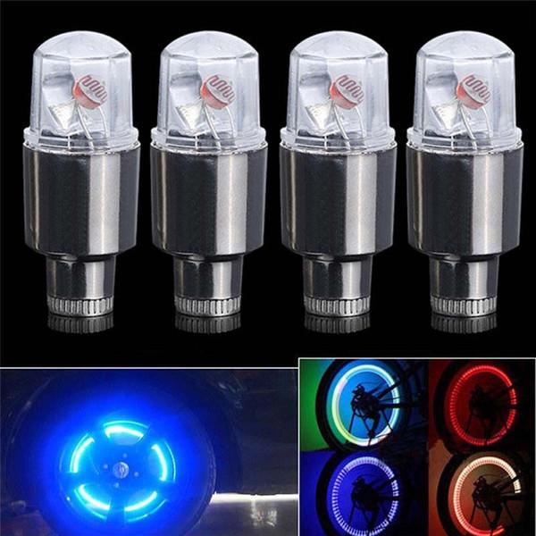 Lampada per torcia a LED per auto con ruota a raggi ruota per bicicletta per bici per auto