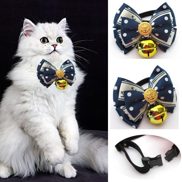 Venta caliente Adjustble Pet Dog Puppy Tie Bow Ties Gato Corbatas Bowknot Grooming Supplies Fashion Dog Accesorios