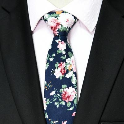 Top florales lazos de la moda de algodón de Paisley corbatas para MenSlim los trajes del partido corbata Lazos antiguas impreso EEA749