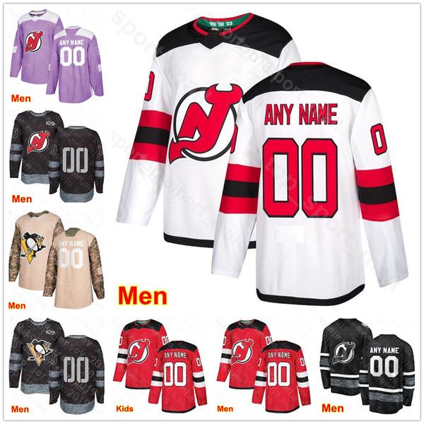 the best attitude 82fc7 1fdcb 2019 Men Kids Women 21 Kyle Palmieri Jersey New Jersey Devils Hockey 19  Travis Zajac 63 Jesper Bratt 28 Severson 13 Nico Hischier St Patricks Day  From ...
