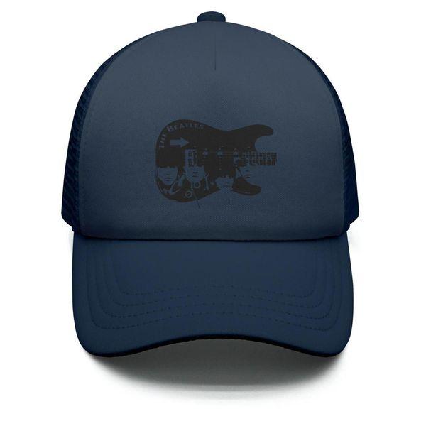 Kids Boys Girls Unisex Adjustable Baseball Cap The beatles Guitar Mesh UV Protection Caps Mesh Polyester Cap