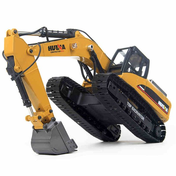 1/14 Rc Hydraulic Excavator Remote Control Metal 23 Channel Road Construction Toys for Boy Hobby