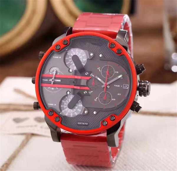 Мужской роскошный спортивный военный montres мужские новые оригинальные reloj большой