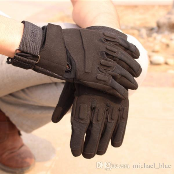 New Blackhawk Tactical Full Finger Gloves Armed Paintball Airsoft Shooting Gloves Mittens Combat Army Hard Knuckle Full Finger Gloves