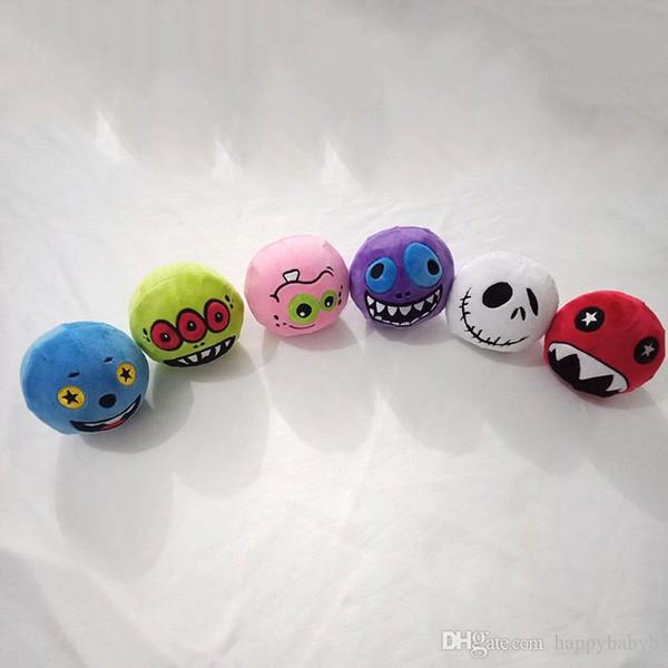 Halloween Geschenk Kawaii Emoji Plüsch Squishy Gefüllte Langsam Steigenden Niedlichen Squishies Spielzeug Stressabbau Squeeze Dekompression spielzeug für kinder