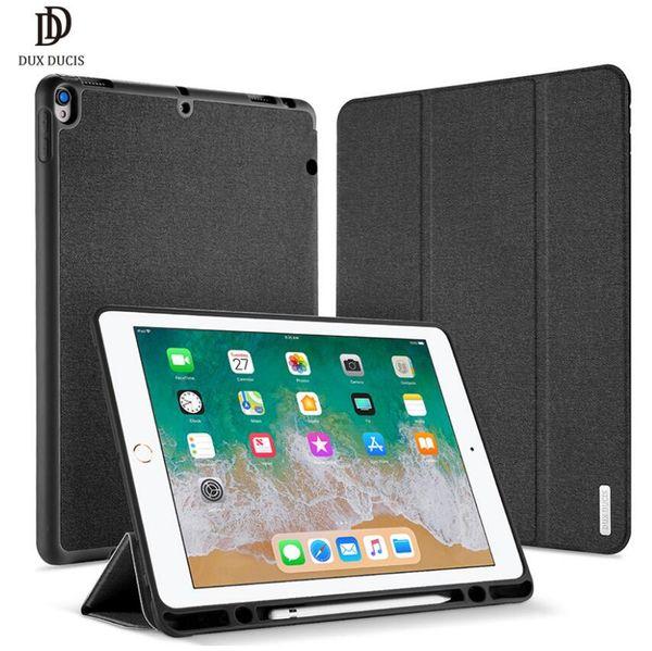 Custodia in pelle DUX DUCIS Custodia in pelle magnetica con coperchio astuto con supporto per matita Coque per ipad Pro 12.9 iPad Pro 11 ipad mini 4 5